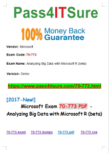70 773 easy exam and easy pass