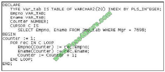 pass4itsure 1z0-148 exam question q7