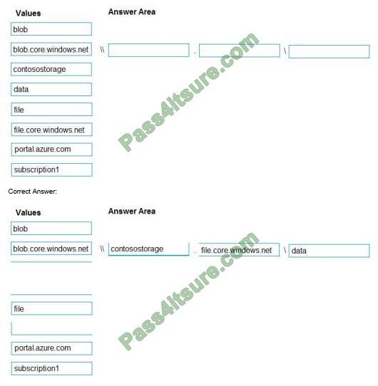 Pass4itsure AZ-103 exam questions-q6